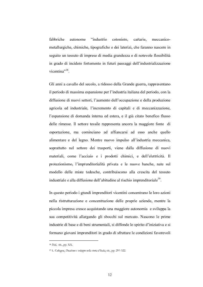Anteprima della tesi: Evoluzione e trasformazioni del meccanico vicentino dal secondo dopoguerra al duemila, Pagina 12