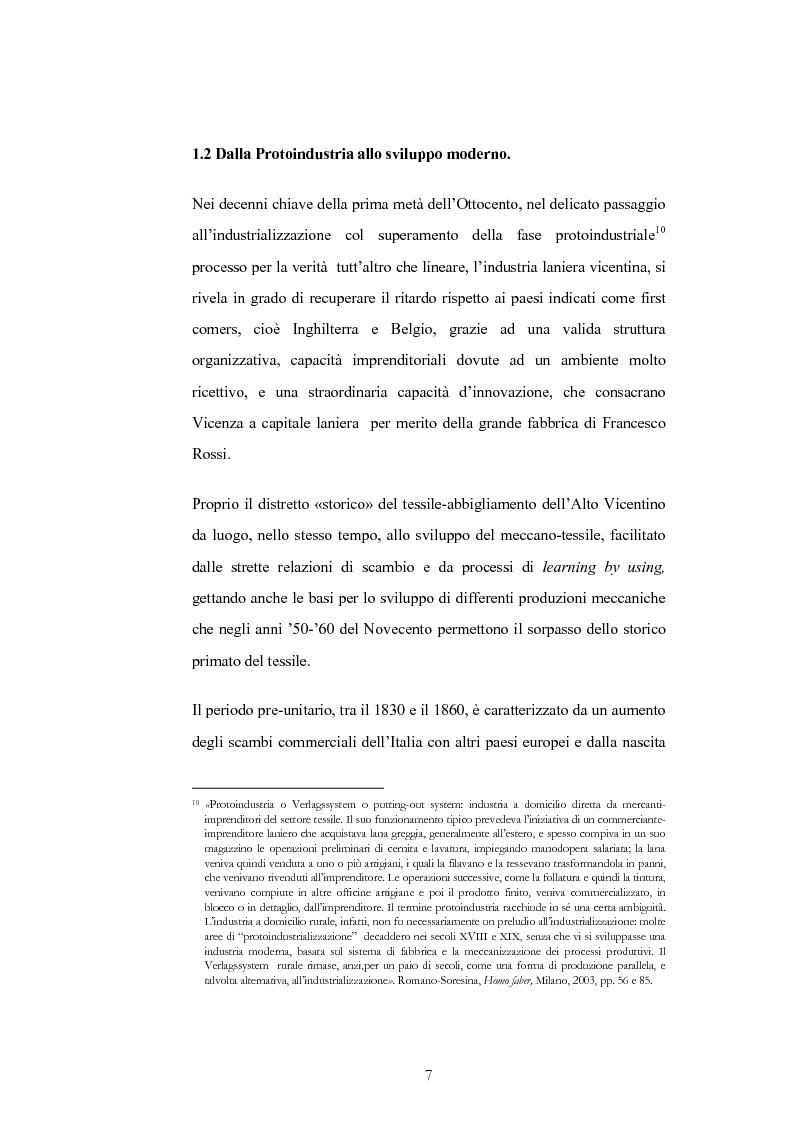 Anteprima della tesi: Evoluzione e trasformazioni del meccanico vicentino dal secondo dopoguerra al duemila, Pagina 7