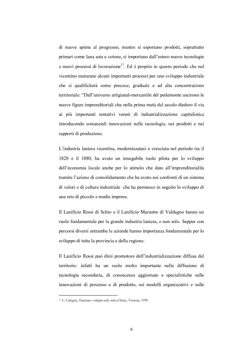 Anteprima della tesi: Evoluzione e trasformazioni del meccanico vicentino dal secondo dopoguerra al duemila, Pagina 8