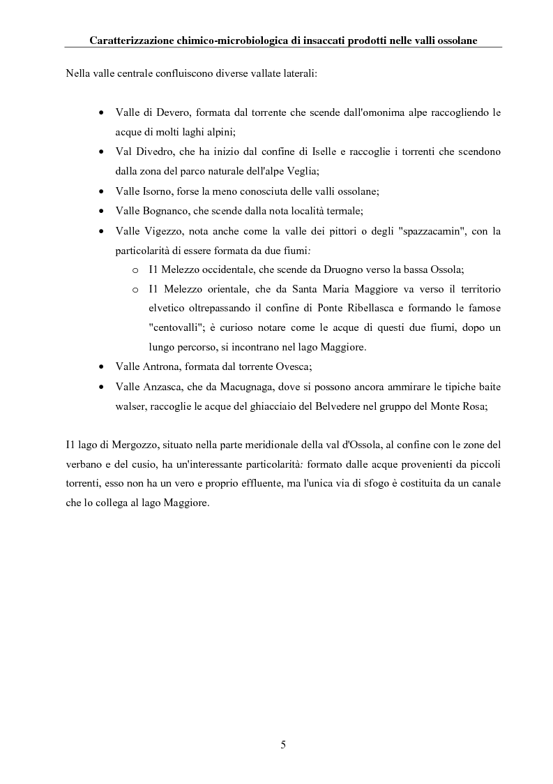 Anteprima della tesi: Caratterizzazione chimico-microbiologica di insaccati prodotti nelle valli ossolane, Pagina 4