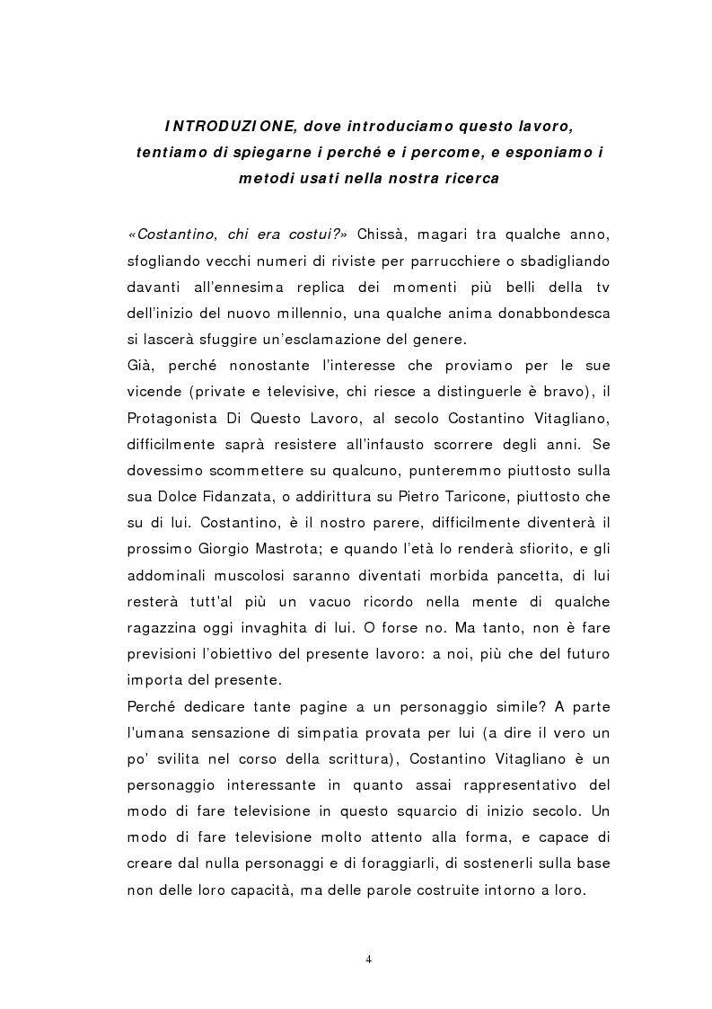 Anteprima della tesi: Personaggi mediatici contemporanei: il caso di Costantino, Pagina 1
