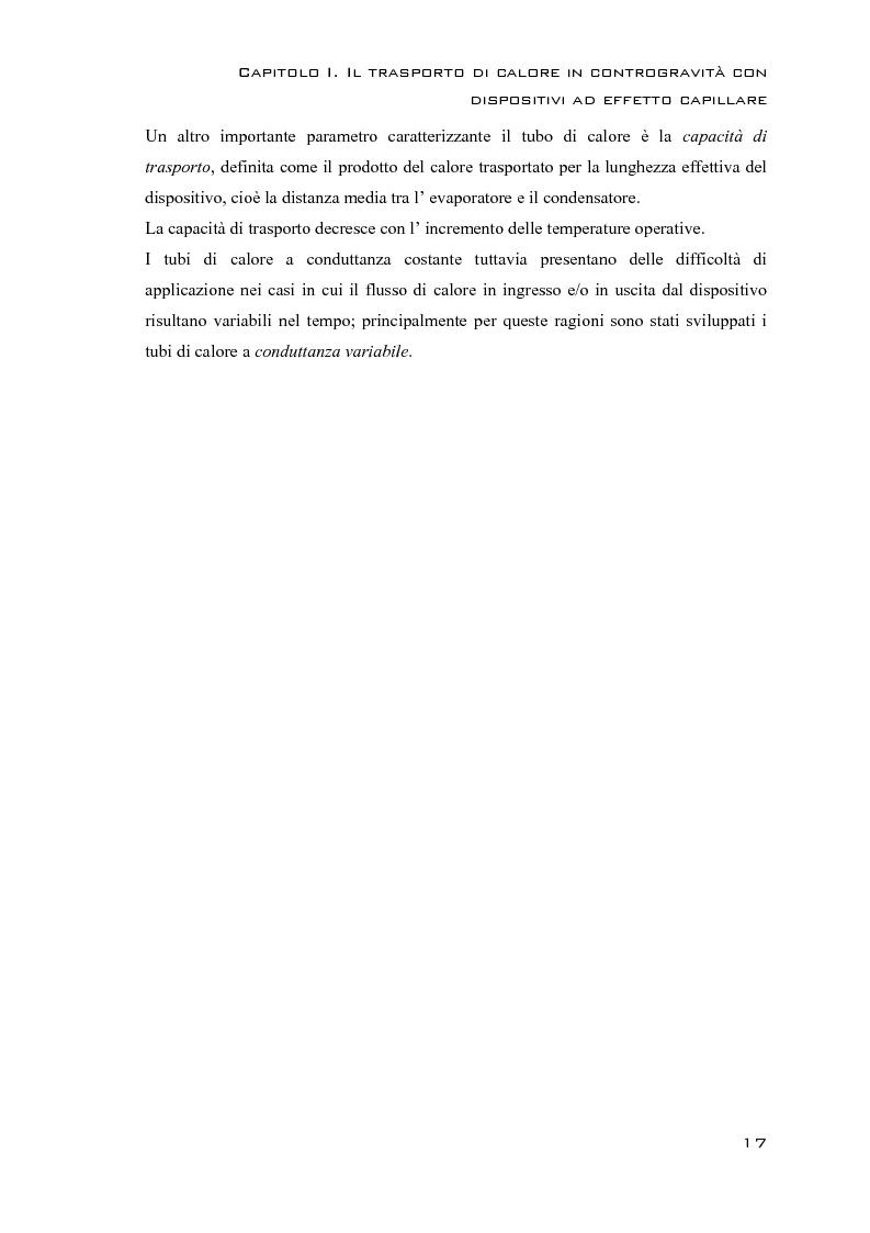Anteprima della tesi: Rilievi Sperimentali sui Termosifoni Bifase in Contro Gravità, Pagina 14