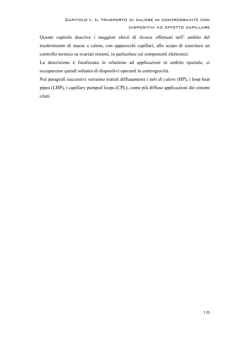 Anteprima della tesi: Rilievi Sperimentali sui Termosifoni Bifase in Contro Gravità, Pagina 7