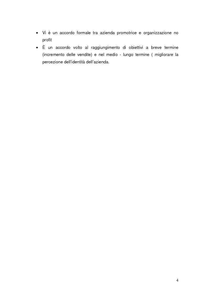 Anteprima della tesi: Cause related marketing: il caso Dash Missione Bontà, Pagina 2