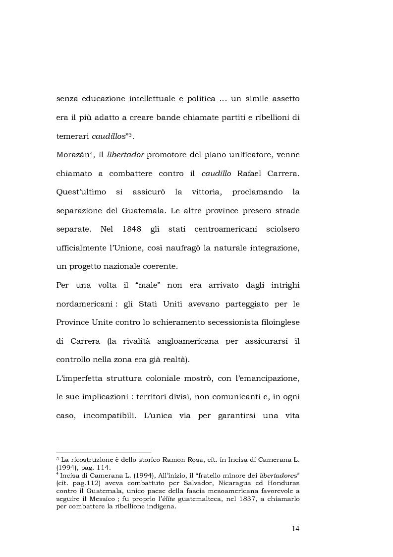 Anteprima della tesi: L'esportazione della democrazia l'esperienza statunitense in America centrale, Pagina 14