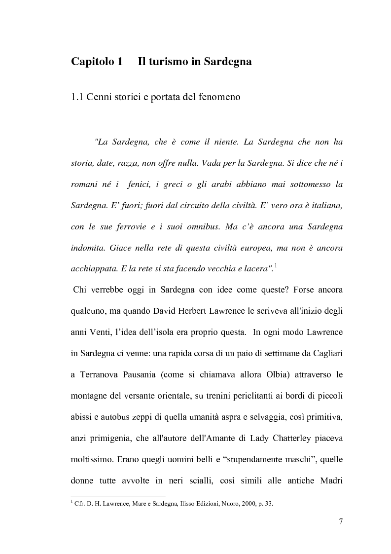 Anteprima della tesi: Internet: un valore aggiunto per il turismo in Sardegna?, Pagina 6