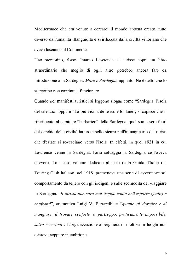 Anteprima della tesi: Internet: un valore aggiunto per il turismo in Sardegna?, Pagina 7