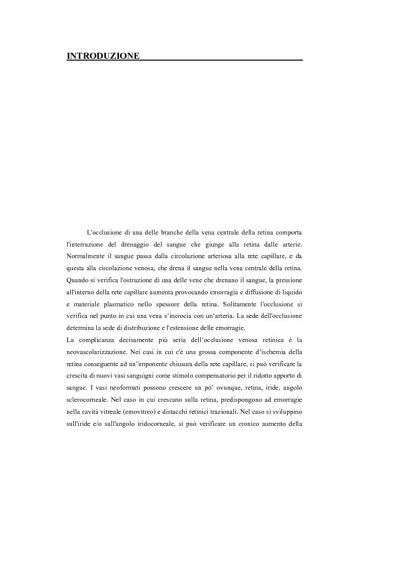 Anteprima della tesi: Identificazione del profilo vascolare in immagini fluoroangiografiche della retina tramite Active Contour Models, Pagina 2