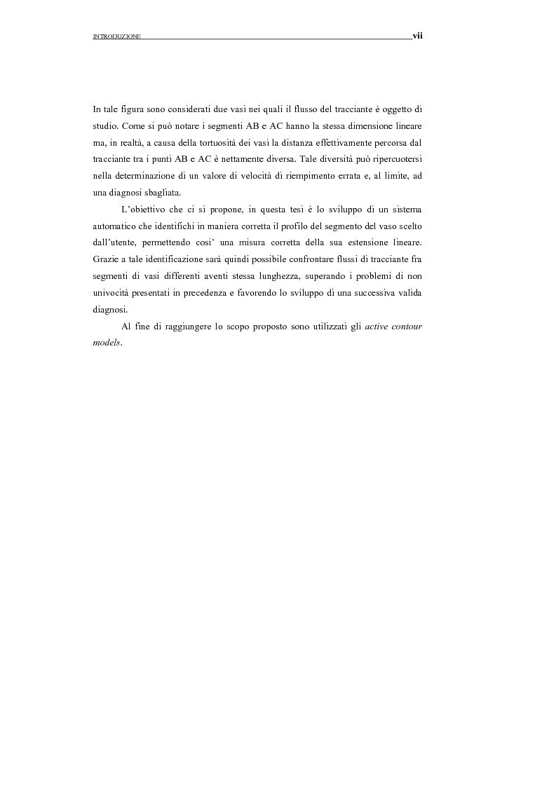 Anteprima della tesi: Identificazione del profilo vascolare in immagini fluoroangiografiche della retina tramite Active Contour Models, Pagina 4