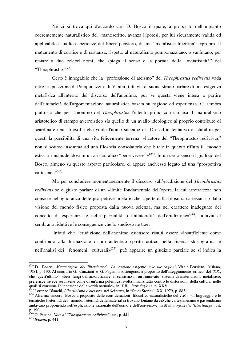 Anteprima della tesi: Il seicentesco Theophrastus redivivus come fonte storiografica, Pagina 11