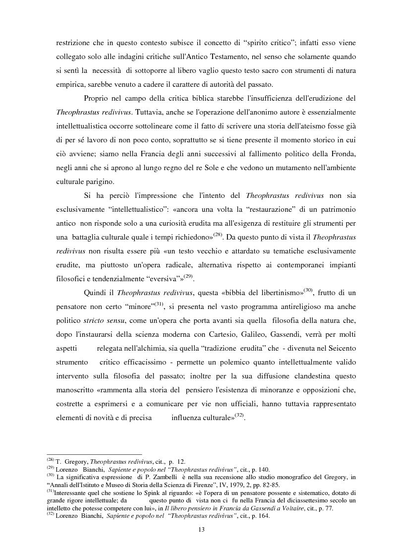 Anteprima della tesi: Il seicentesco Theophrastus redivivus come fonte storiografica, Pagina 12