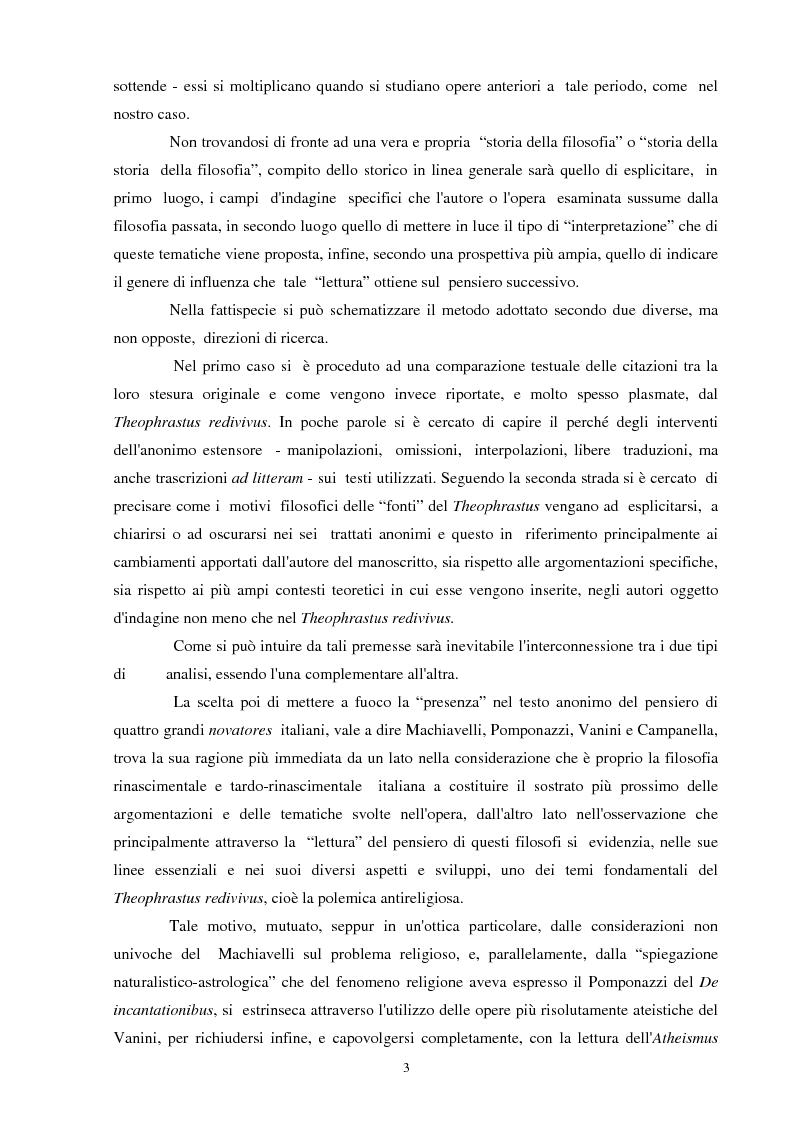 Anteprima della tesi: Il seicentesco Theophrastus redivivus come fonte storiografica, Pagina 2