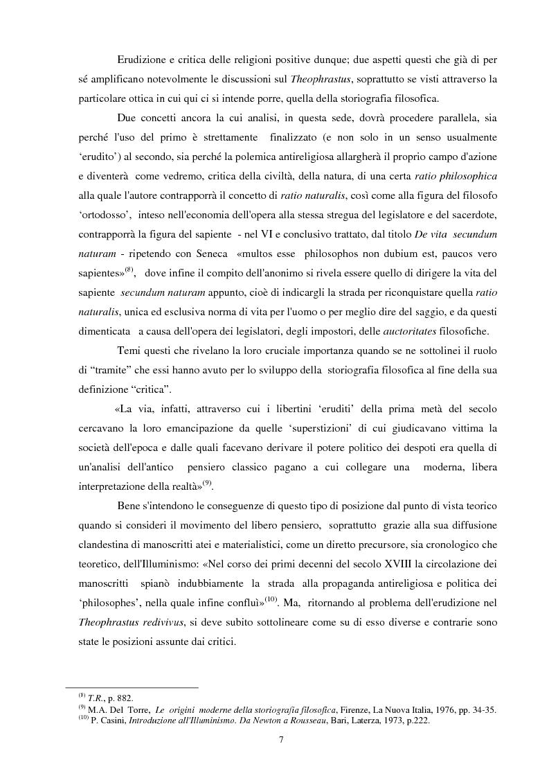 Anteprima della tesi: Il seicentesco Theophrastus redivivus come fonte storiografica, Pagina 6