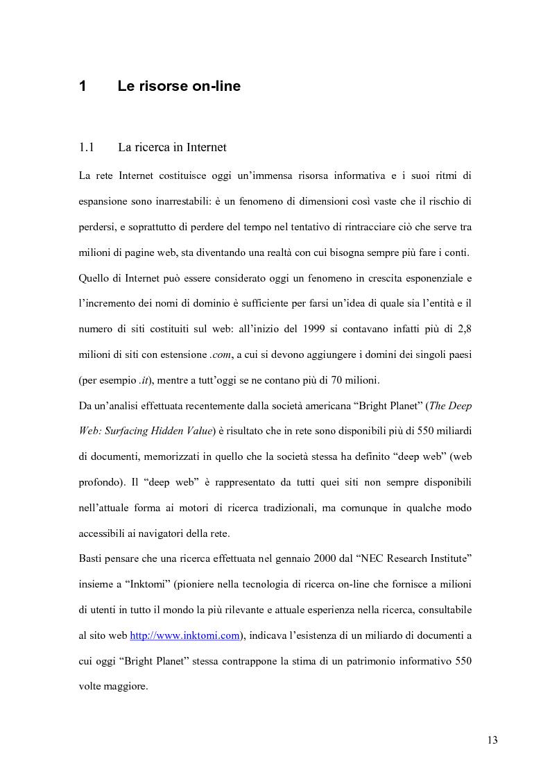 Anteprima della tesi: Cento anni di studi liutari: una bibliografia organologica verificata tramite internet, Pagina 11