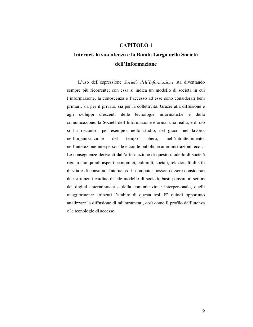 Anteprima della tesi: Virtual Community in ambienti 3D: lo sviluppo delle relazioni umane in un sistema di Chat Tridimensionale. L'approccio all'interface design ed alla descrizione sistemica., Pagina 5