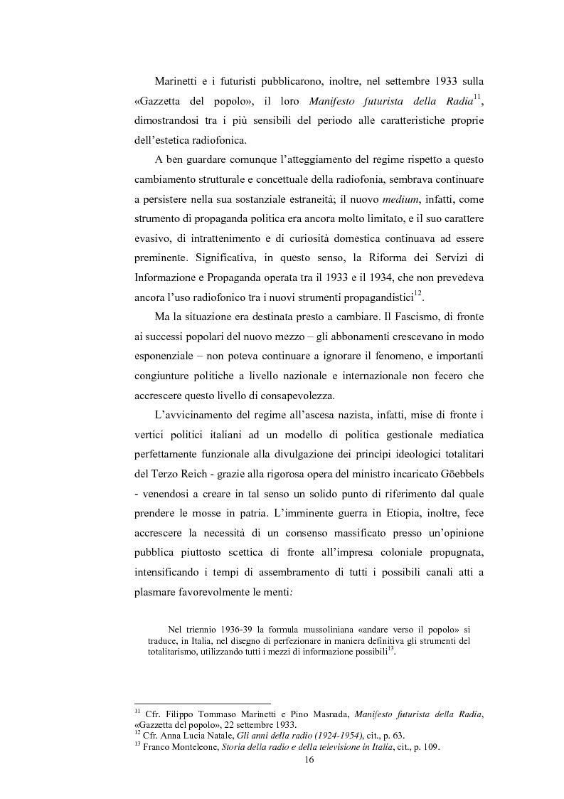 Anteprima della tesi: La poesia dello spazio. Il teatro radiofonico in Italia (1924-1974), Pagina 12
