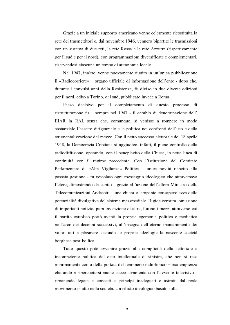 Anteprima della tesi: La poesia dello spazio. Il teatro radiofonico in Italia (1924-1974), Pagina 15