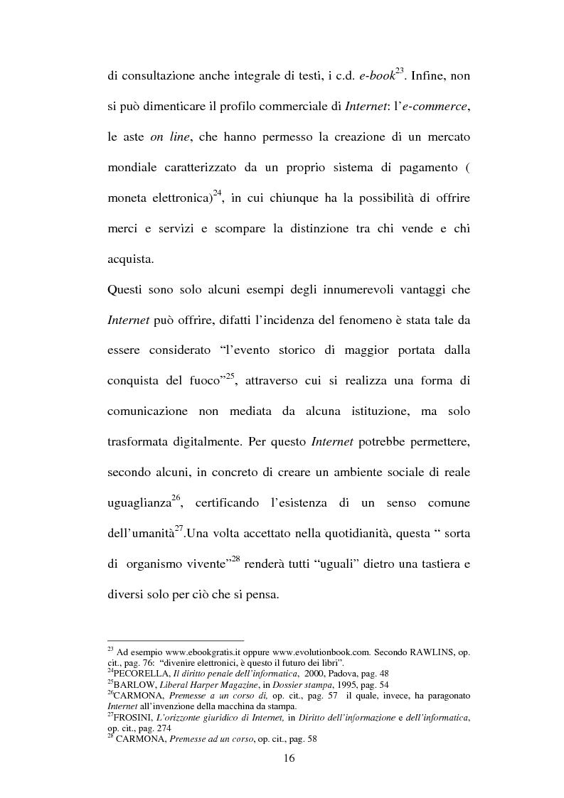 Anteprima della tesi: Le offese al patrimonio mediante strumenti informatici, Pagina 13