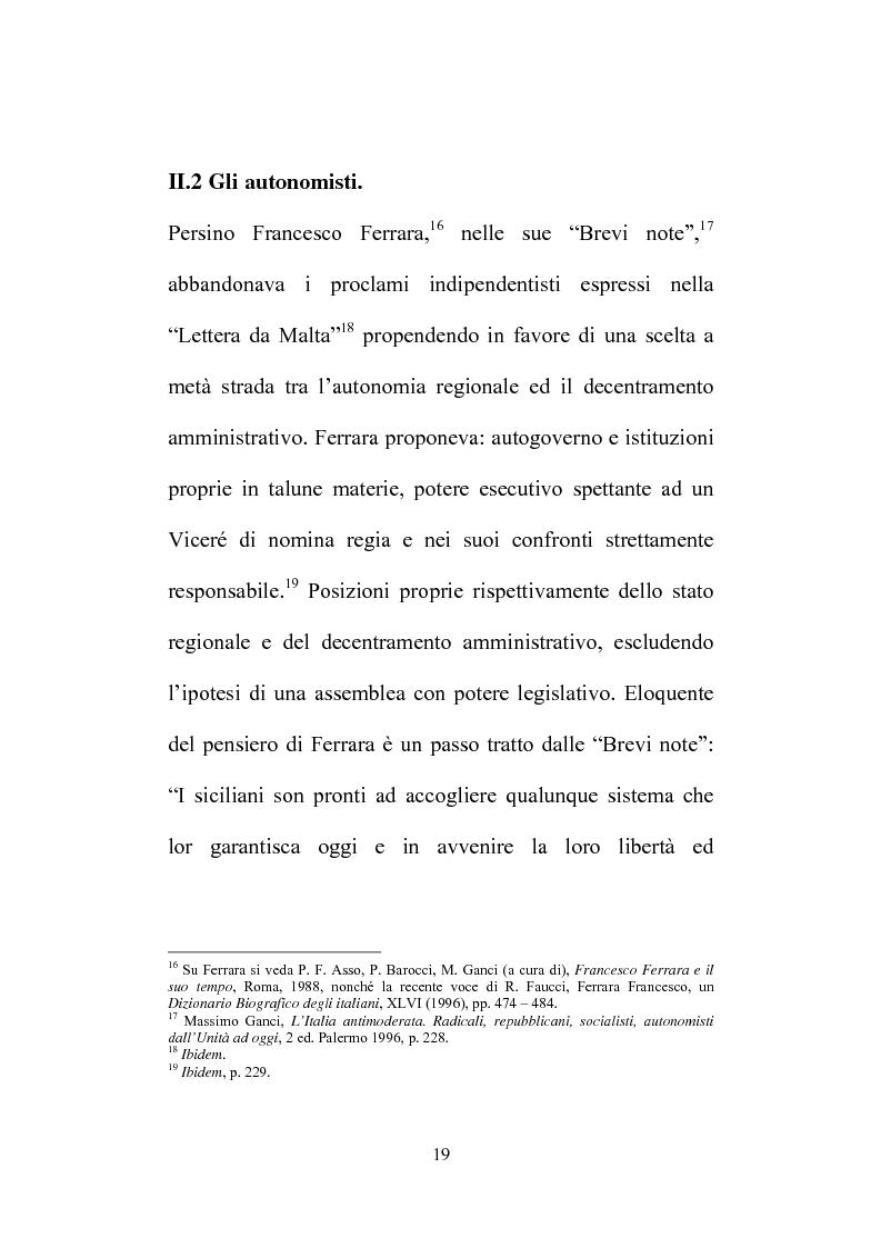Anteprima della tesi: Il Consiglio Straordinario di Stato in Sicilia, Pagina 15