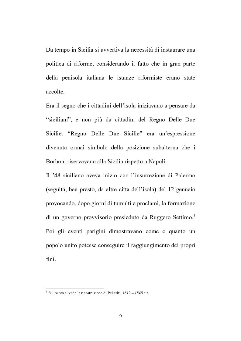 Anteprima della tesi: Il Consiglio Straordinario di Stato in Sicilia, Pagina 2