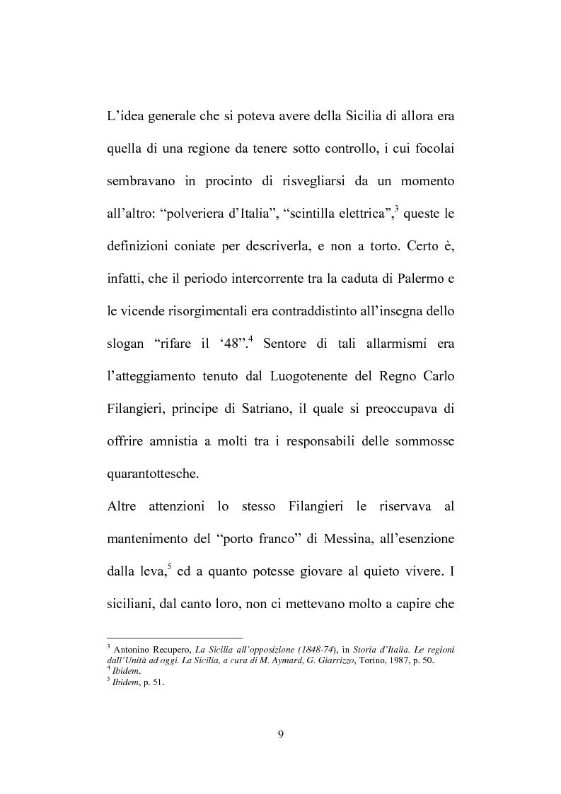 Anteprima della tesi: Il Consiglio Straordinario di Stato in Sicilia, Pagina 5