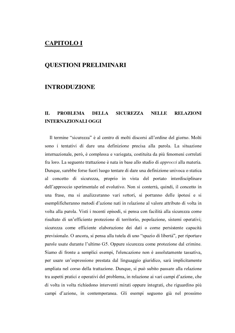 Anteprima della tesi: Crittografia come scienza in fieri: approcci alla sicurezza internazionale, Pagina 5