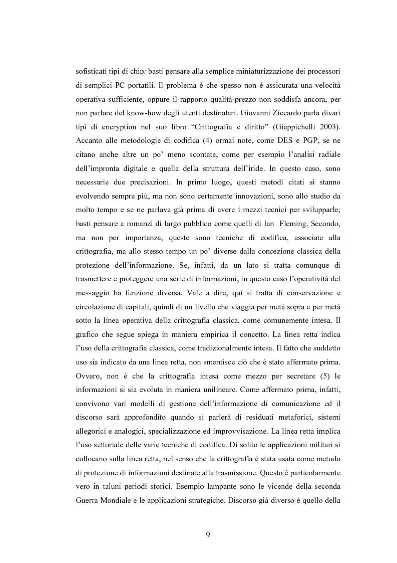 Anteprima della tesi: Crittografia come scienza in fieri: approcci alla sicurezza internazionale, Pagina 9