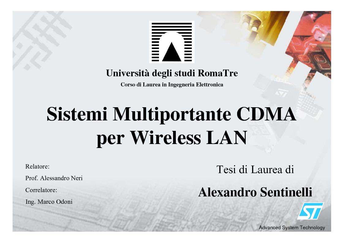 thesis on wireless lan