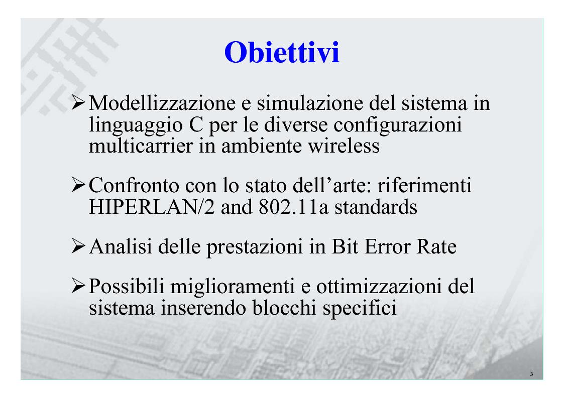 Anteprima della tesi: Sistemi Multiportante CDMA per Wireless Lan, Pagina 3