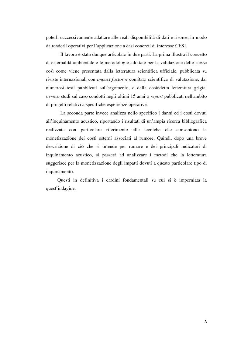 Anteprima della tesi: Valutazione economica del danno da rumore, Pagina 3