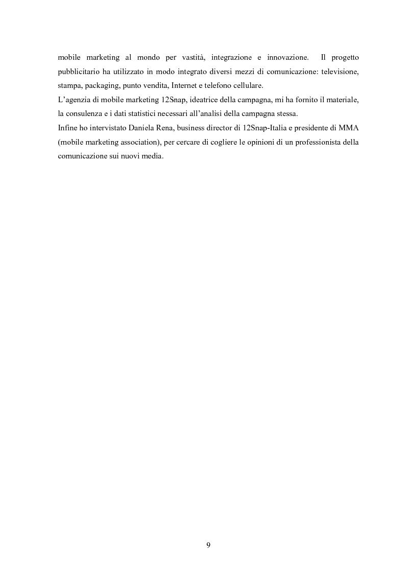 Anteprima della tesi: Logiche e strumenti della pubblicità digitale, Pagina 7