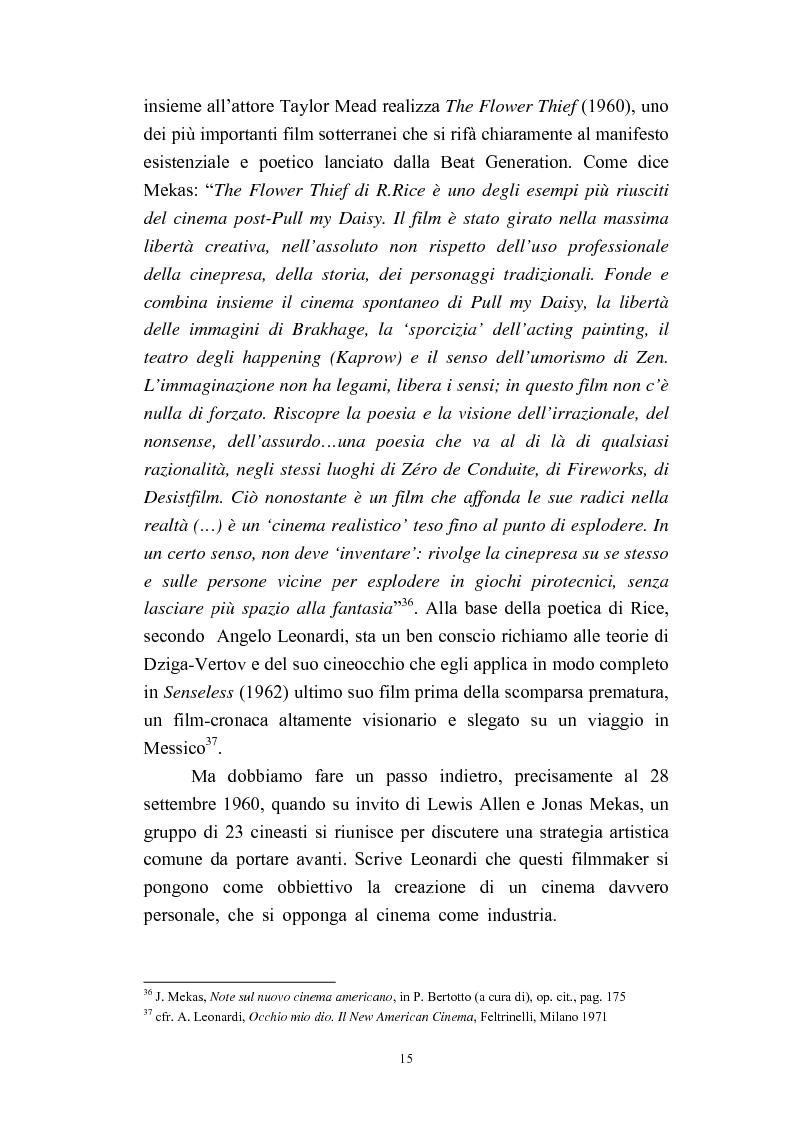 Anteprima della tesi: Il cinema americano e la controcultura fra gli anni '50 e gli anni '70, Pagina 13