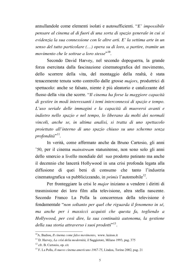 Anteprima della tesi: Il cinema americano e la controcultura fra gli anni '50 e gli anni '70, Pagina 3