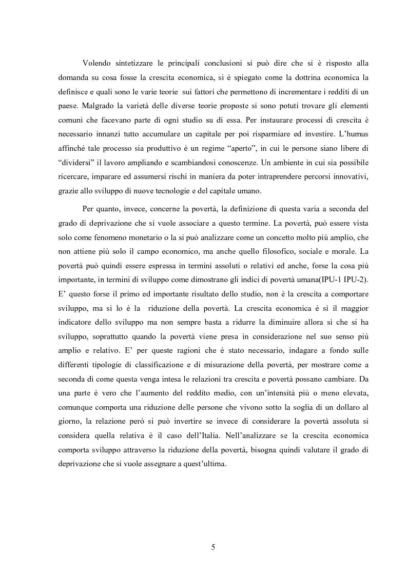 Anteprima della tesi: Crescita e povertà: un'analisi empirica per i paesi latinoamericani, Pagina 5