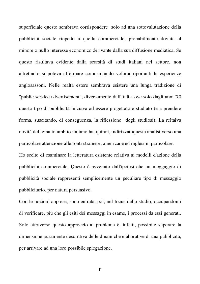 Anteprima della tesi: Il messaggio informativo-persuasivo, Pagina 2