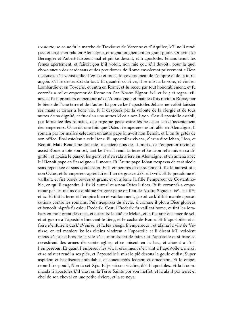 Anteprima della tesi: Brunetto Latini - ''Tresor'' - Volgarizzamento di Bono Giamboni - Adattamento salentino, Pagina 10