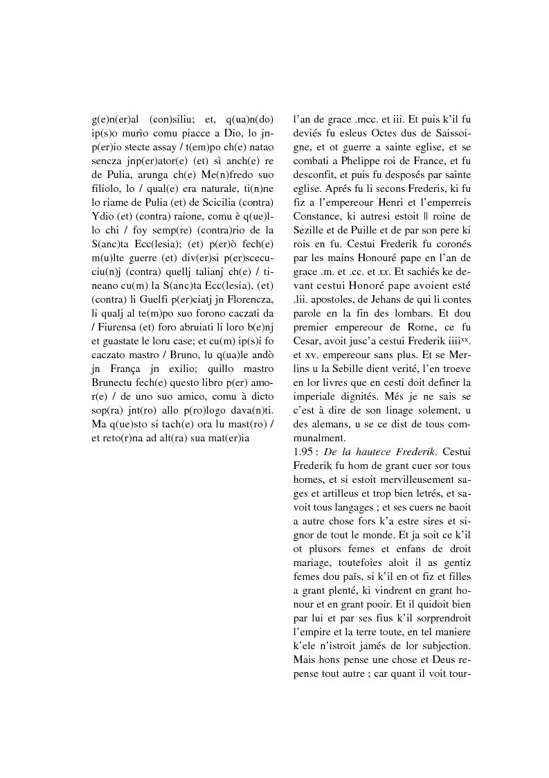 Anteprima della tesi: Brunetto Latini - ''Tresor'' - Volgarizzamento di Bono Giamboni - Adattamento salentino, Pagina 12