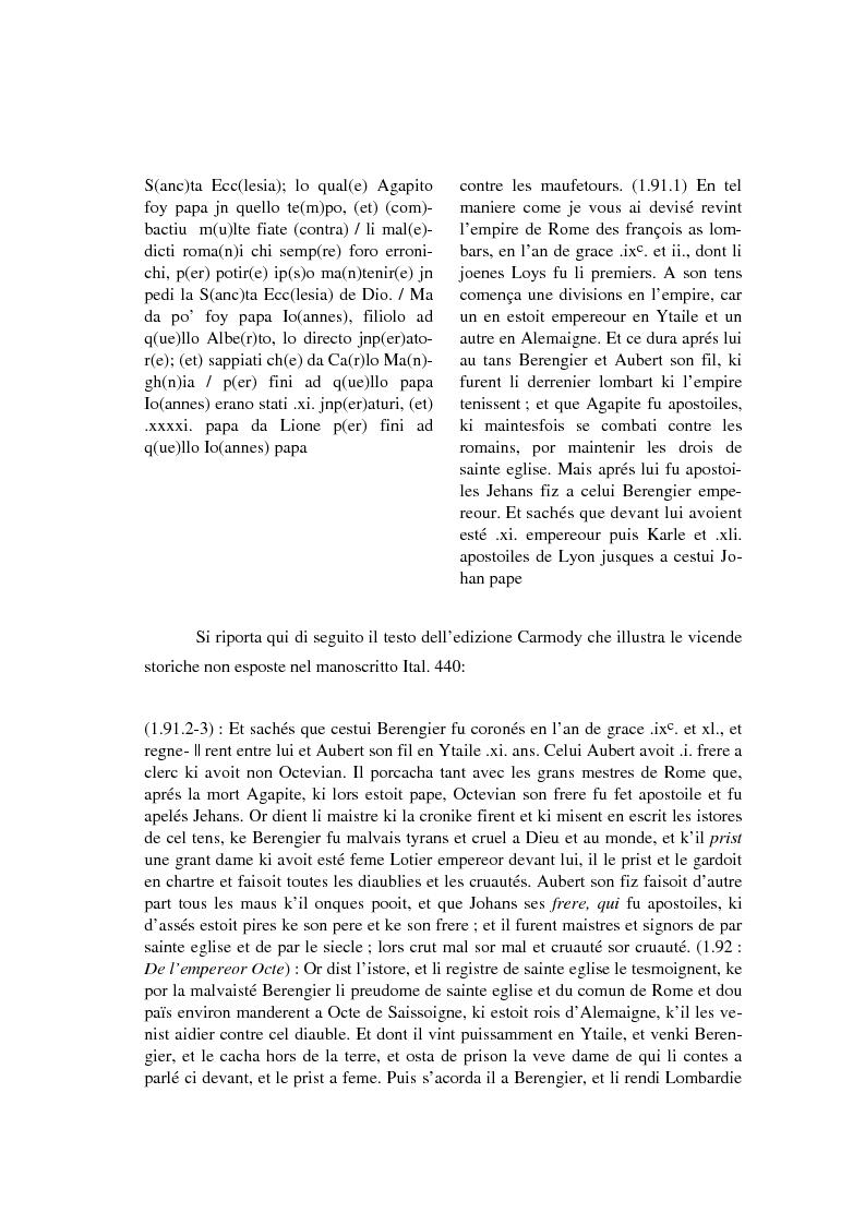 Anteprima della tesi: Brunetto Latini - ''Tresor'' - Volgarizzamento di Bono Giamboni - Adattamento salentino, Pagina 9