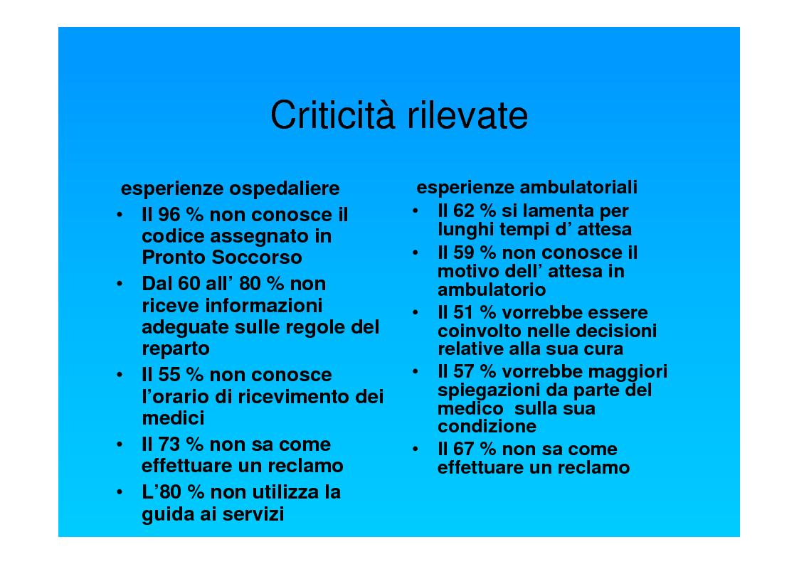Anteprima della tesi: Dal punto di vista del paziente. La customer satisfaction nei servizi socio-sanitari, Pagina 10
