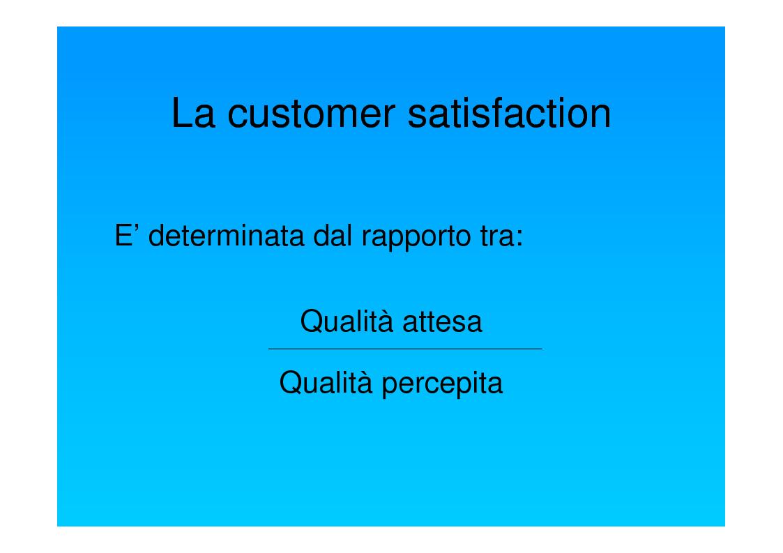 Anteprima della tesi: Dal punto di vista del paziente. La customer satisfaction nei servizi socio-sanitari, Pagina 4