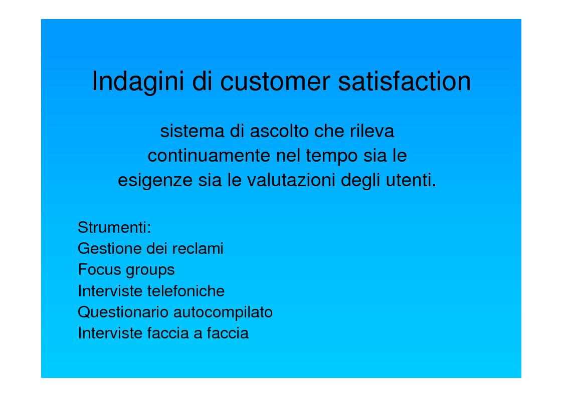 Anteprima della tesi: Dal punto di vista del paziente. La customer satisfaction nei servizi socio-sanitari, Pagina 6
