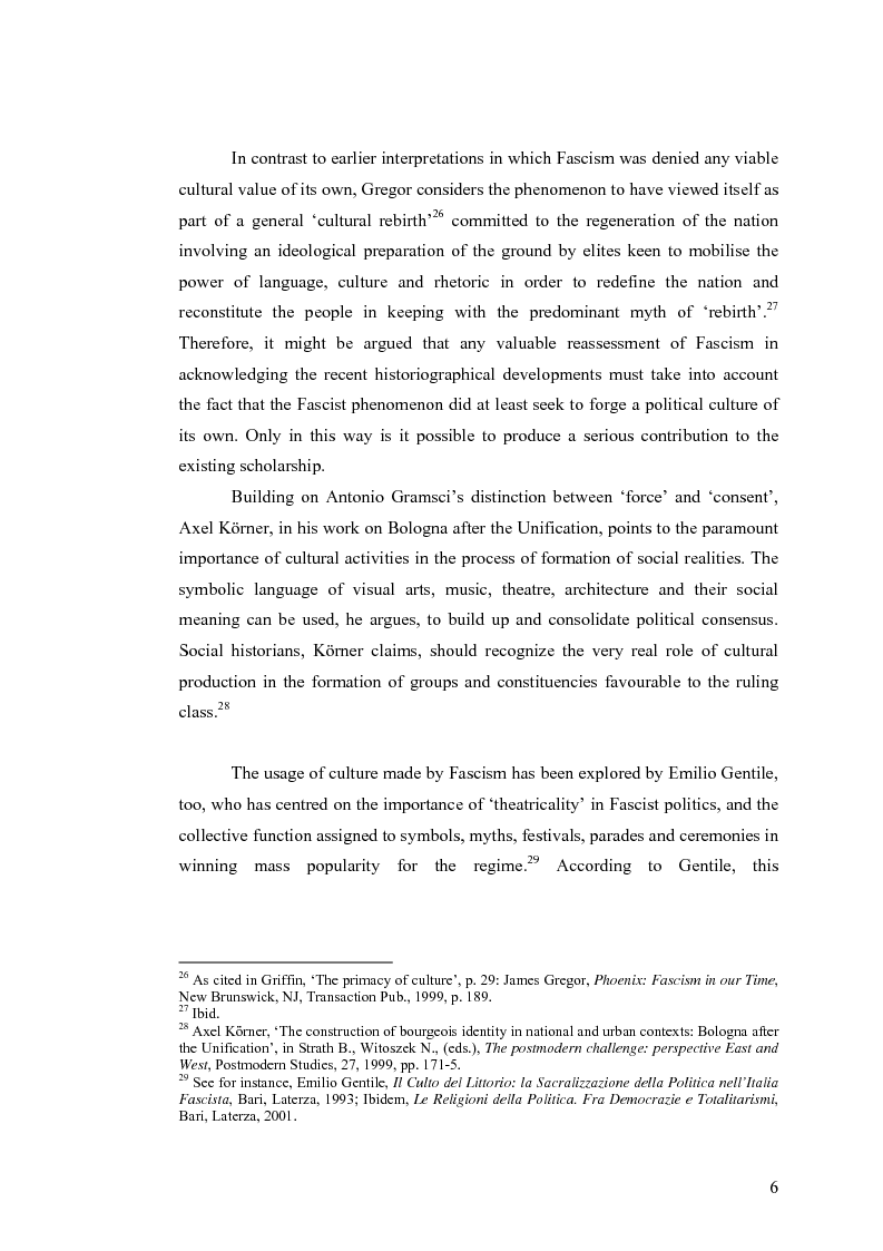 Anteprima della tesi: Culture, tourism and Fascism in Venice 1919-1945, Pagina 6