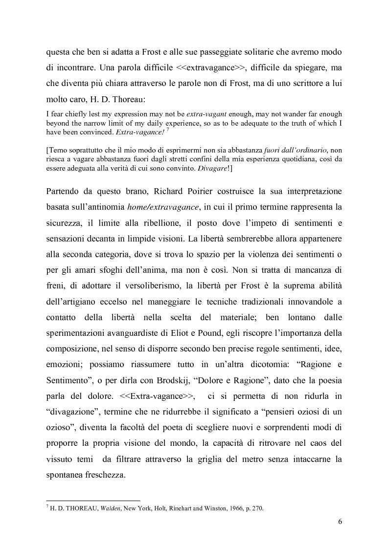 Anteprima della tesi: La poetica del confine.Tre poesie tradotte di Robert Frost, Pagina 4