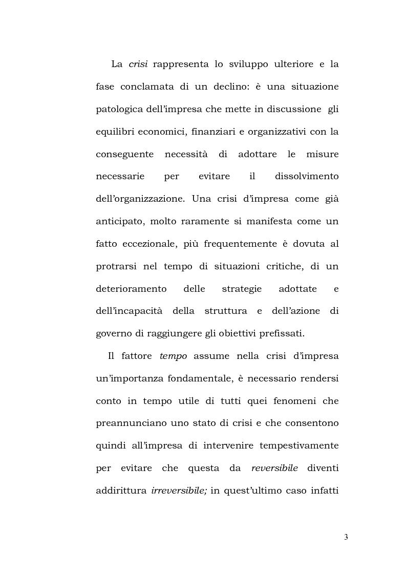 Anteprima della tesi: La crisi d'impresa tra regole ed orientamenti etici, Pagina 6