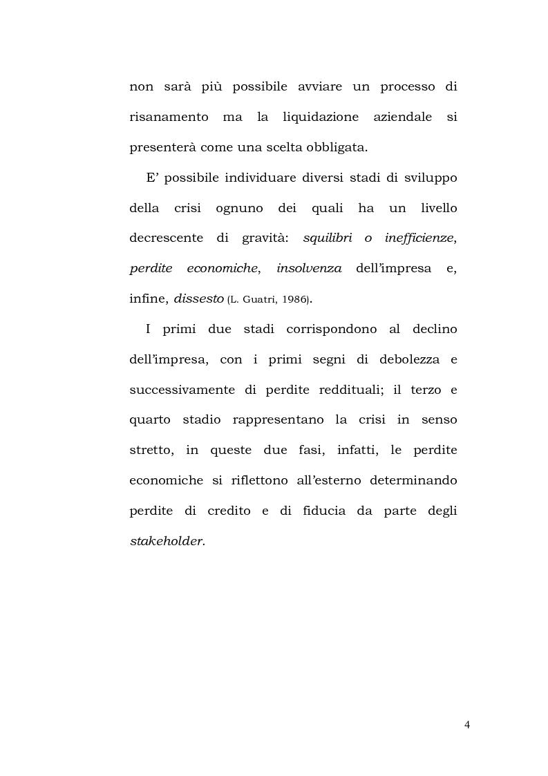 Anteprima della tesi: La crisi d'impresa tra regole ed orientamenti etici, Pagina 7