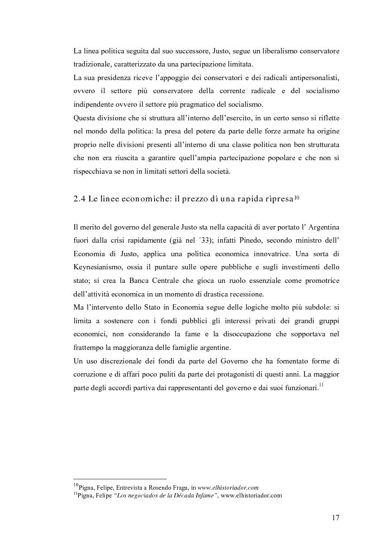 Anteprima della tesi: Argentina: la storia attraverso la macchina da presa, Pagina 13