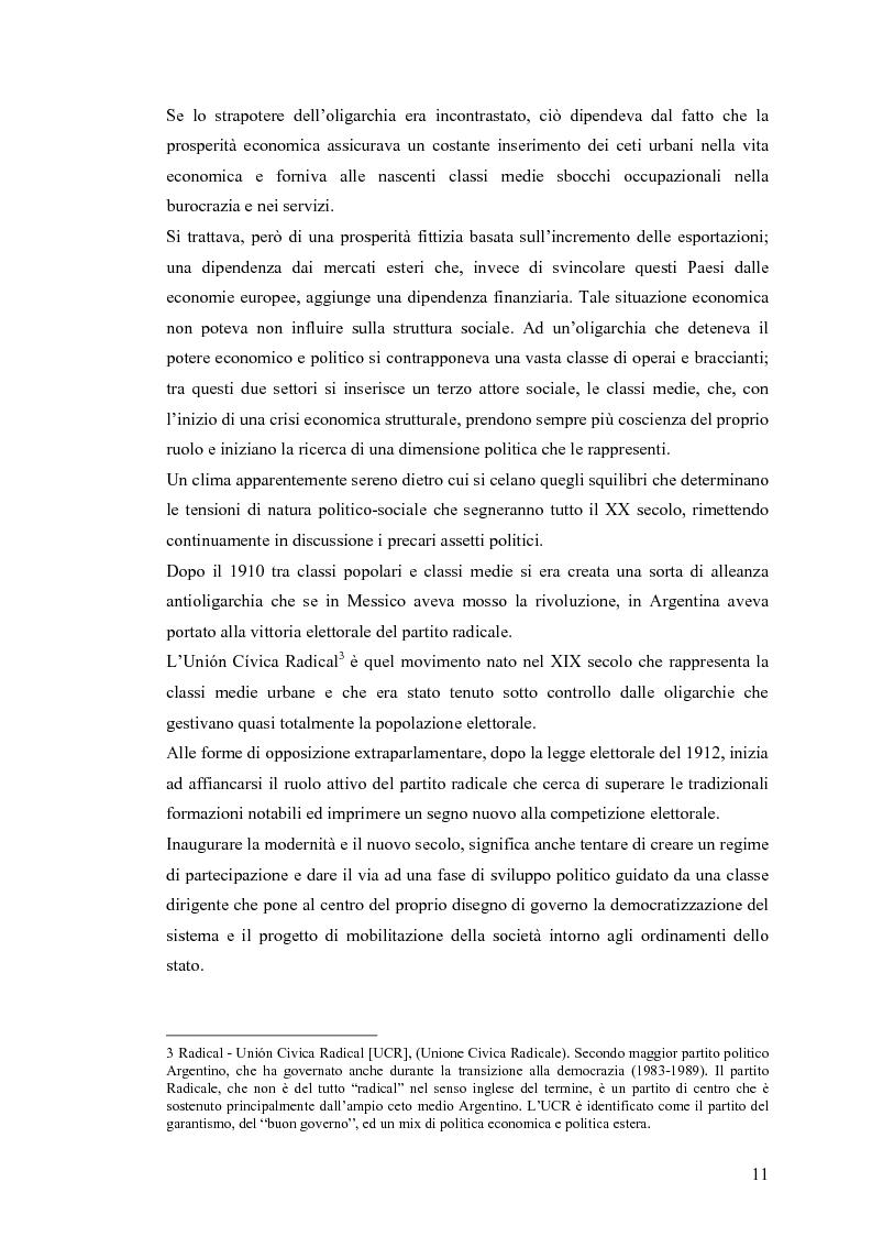 Anteprima della tesi: Argentina: la storia attraverso la macchina da presa, Pagina 7