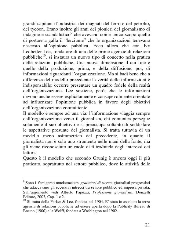 Anteprima della tesi: Il servizio stampa dell'europarlamento. Raccolta, selezione, trattamento delle notizie sulla principale istituzione europea, Pagina 14