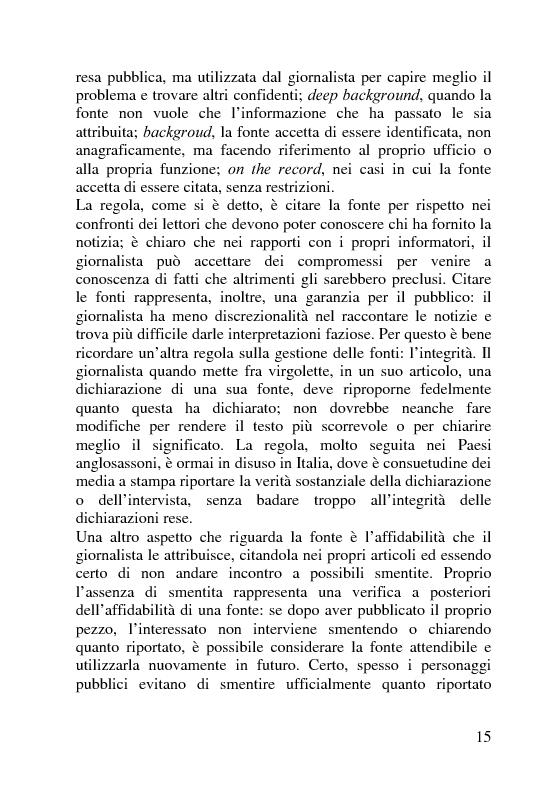 Anteprima della tesi: Il servizio stampa dell'europarlamento. Raccolta, selezione, trattamento delle notizie sulla principale istituzione europea, Pagina 8