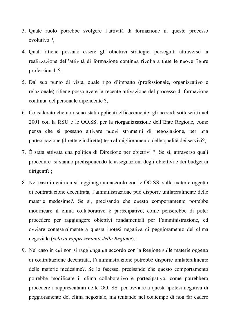 Anteprima della tesi: Evoluzioni delle Relazioni industriali e gestione delle risorse umane nelle pubbliche Amministrazioni: il caso Giunta regionale Abruzzo, Pagina 12